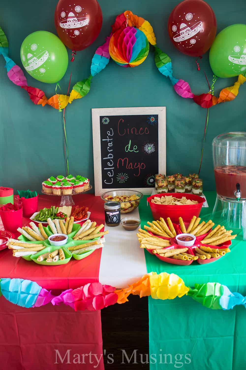 Cinco de mayo party for 17th birthday decoration ideas