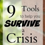 9 Tools to Survive a Crisis