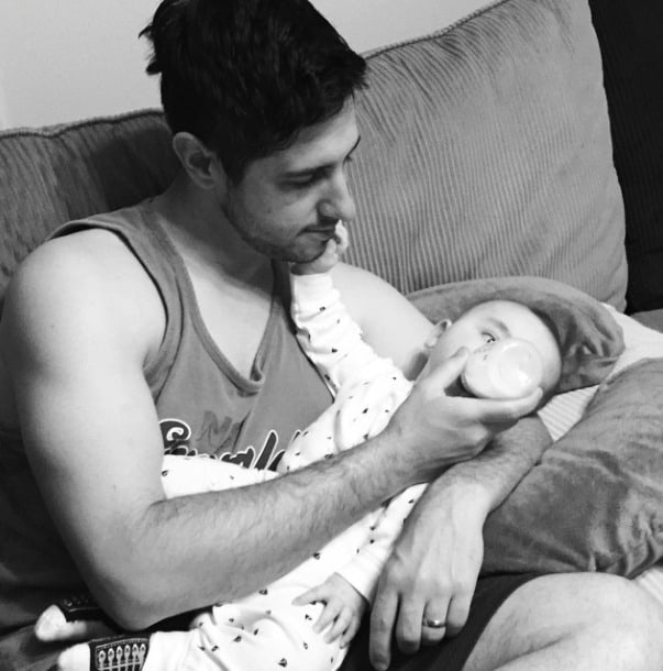 Great advice for new dads from a first time father, with everything you need to know to make it through those sleepless, scary and adjustment filled days!