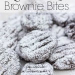 Quick and Easy Brownie Bites