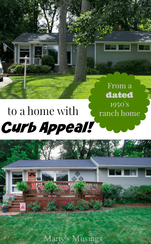Ranch style house for Ranch house curb appeal