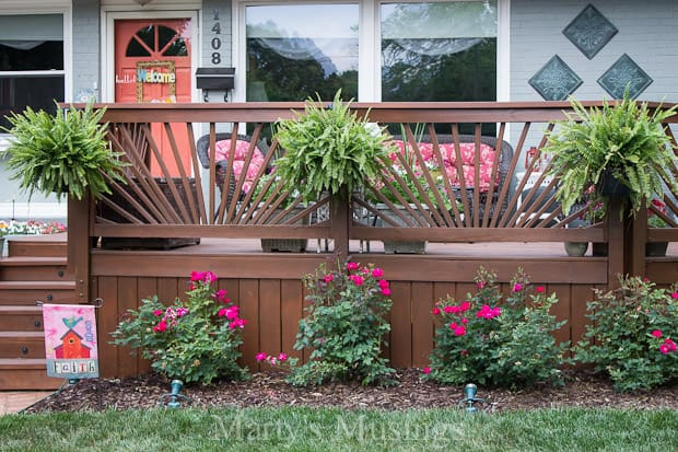 How to Build a Sunburst Deck Railing