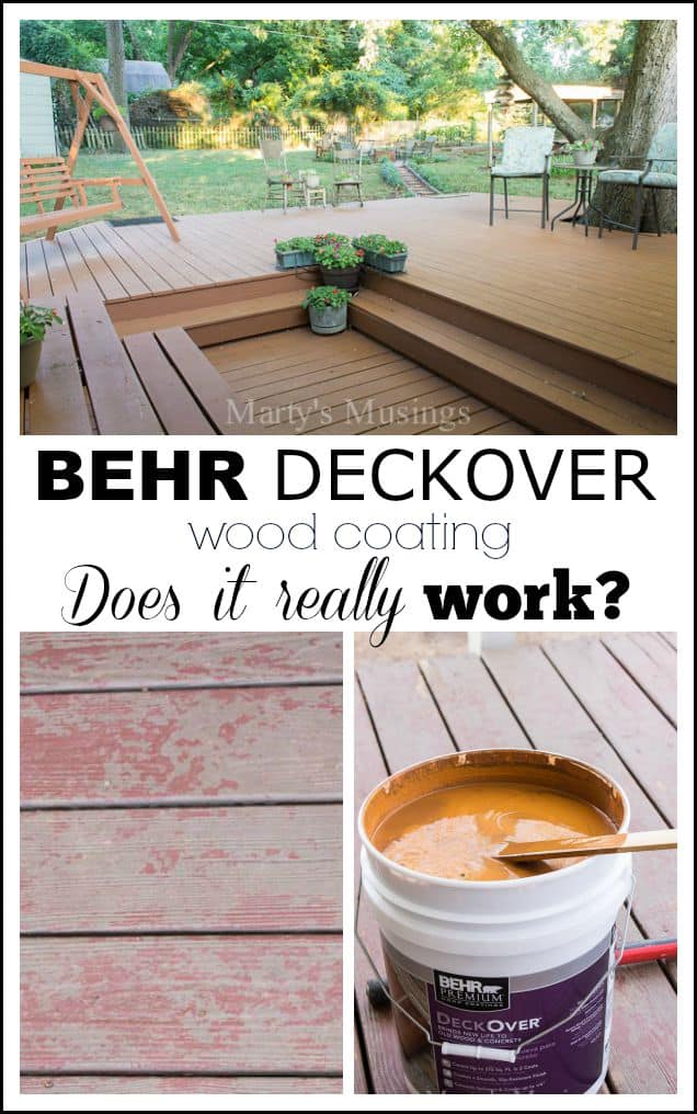 Readers Wanted To Know If The Behr Deckover Restoration Product Lived Up Claims Of Longterm