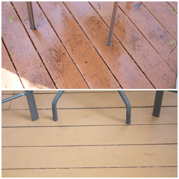 Readers wanted to know if the Behr Deckover restoration product lived up to claims of longterm wood coverage. These DIY homeowners are back with an update.