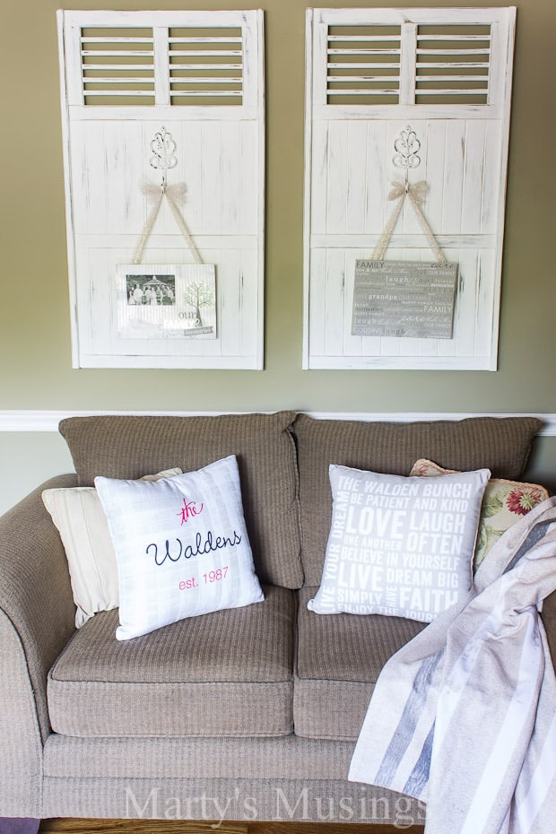 By using items you create from Shutterfly home decor you can refresh any space and create an inviting home with family pictures and personal messages.