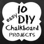 Chalkboard Paint Ideas for the Home