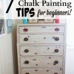 7 Chalk Painting Tips for Beginners