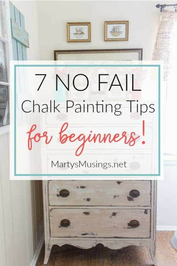 7 Chalk Painting Tips For Beginners Supplies You Must Have
