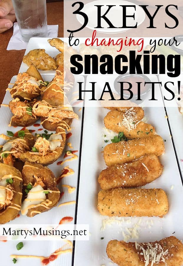 These 3 easy tips to help you change your snacking habits will encourage you to take charge of your life, make some changes and begin a journey towards wellness and health. You can do this!