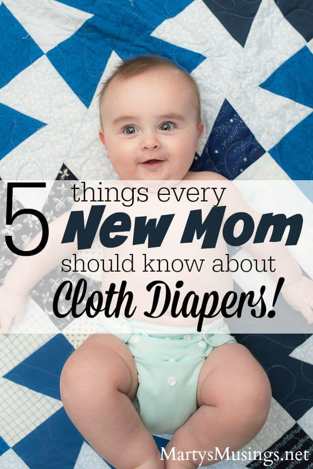 5 Things Every New Mom Should Know About Cloth Diapers