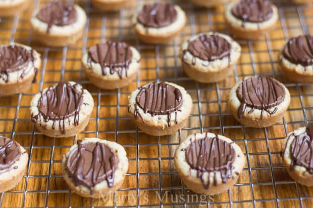 By using an easy make ahead basic cookie mix you can make several different kinds of cookies, including these amazing Reese's peanut butter cups cookies.