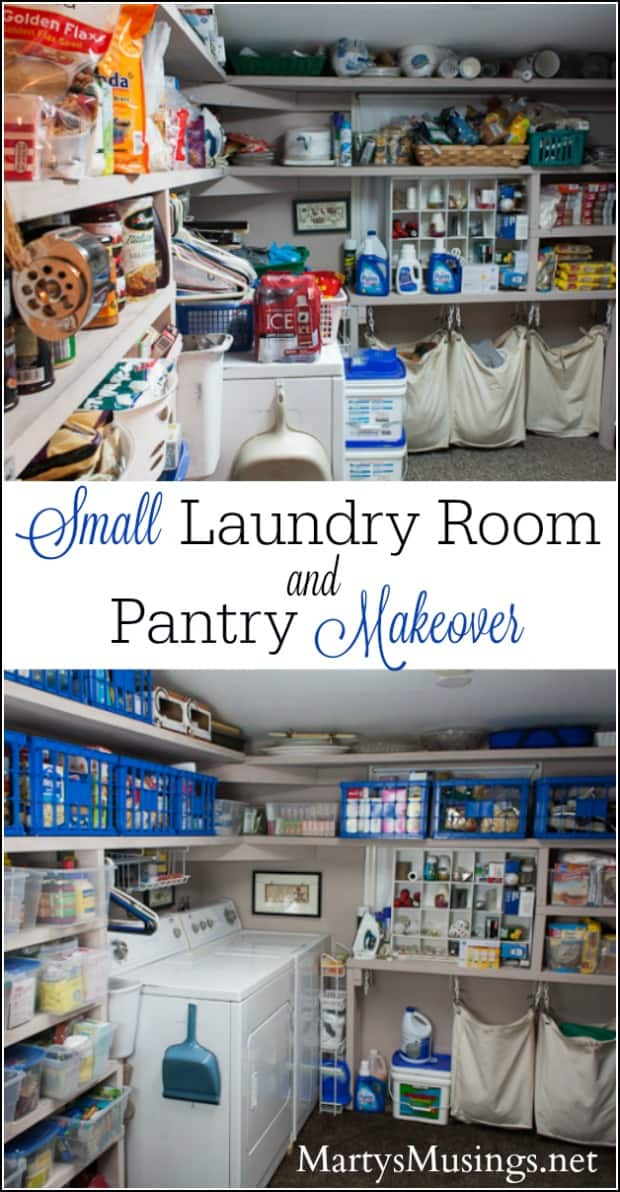 Small Kitchen Storage Ideas For A More Efficient Space: Small Laundry Room Ideas