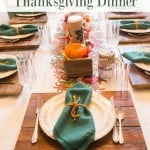 5 Tips for a Low Stress Thanksgiving Dinner