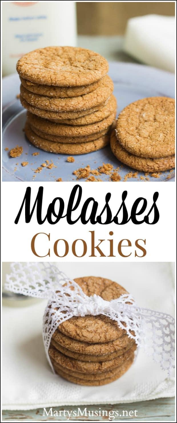 Easy Molasses Cookies Recipe