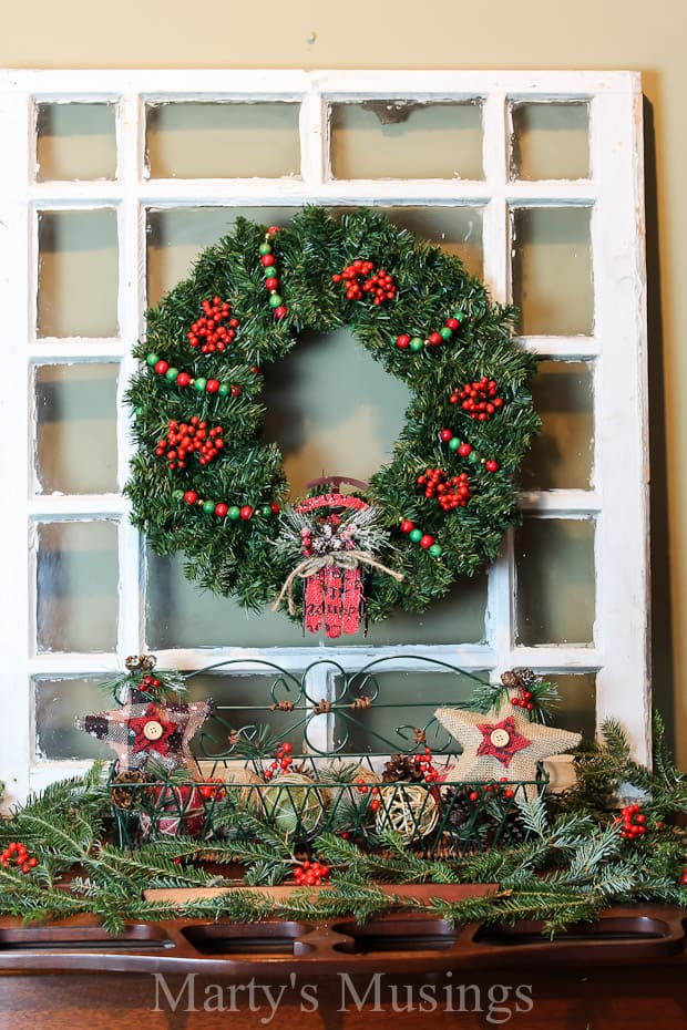 with these easy tips you can treat any flat surface next to a wall in your - Christmas Mantel Decorations For Sale