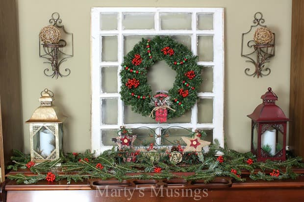 with these easy tips you can treat any flat surface next to a wall in your my christmas mantel