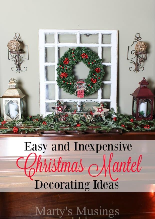 Christmas Mantel Decorating Ideas – Holiday Mantel Decor