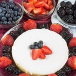 Classic Cheesecake with Fruit Toppings