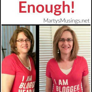 Knowing you can't change anyone but yourself, blogger Marty Walden shows you how to change your life through her inspiring personal story and struggles.