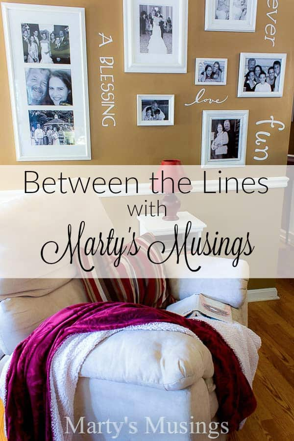 Between the Lines with Marty's Musings