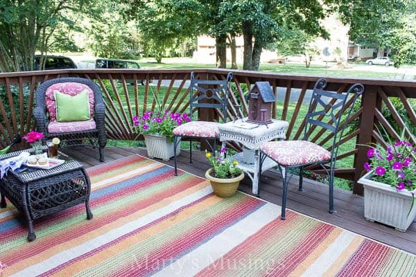 patio deck decorating ideas. Try These 5 Deck Decorating Ideas On A Budget To Create Gorgeous Outdoor Room With Patio