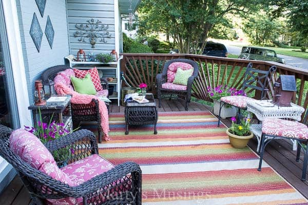Charmant Try These 5 Deck Decorating Ideas On A Budget To Create A Gorgeous Outdoor  Room With