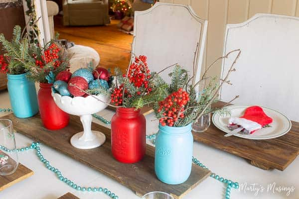 these 5 cheap christmas decorations will help you create the simple authentic home you - Red And Turquoise Christmas Decorations