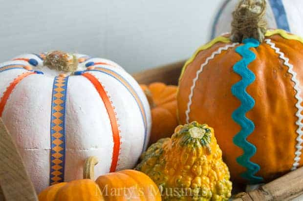DIY Painted Pumpkin Craft
