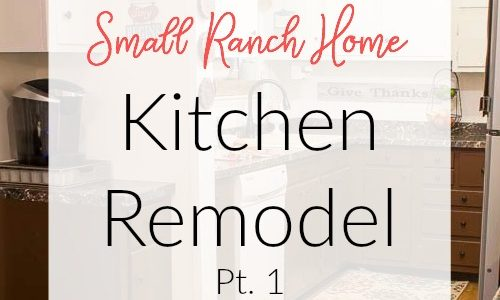 Follow DIY blogger Marty's Musings as she transforms her 1950's ranch home into an authentic beauty when she takes down a wall and remodels her dated kitchen.
