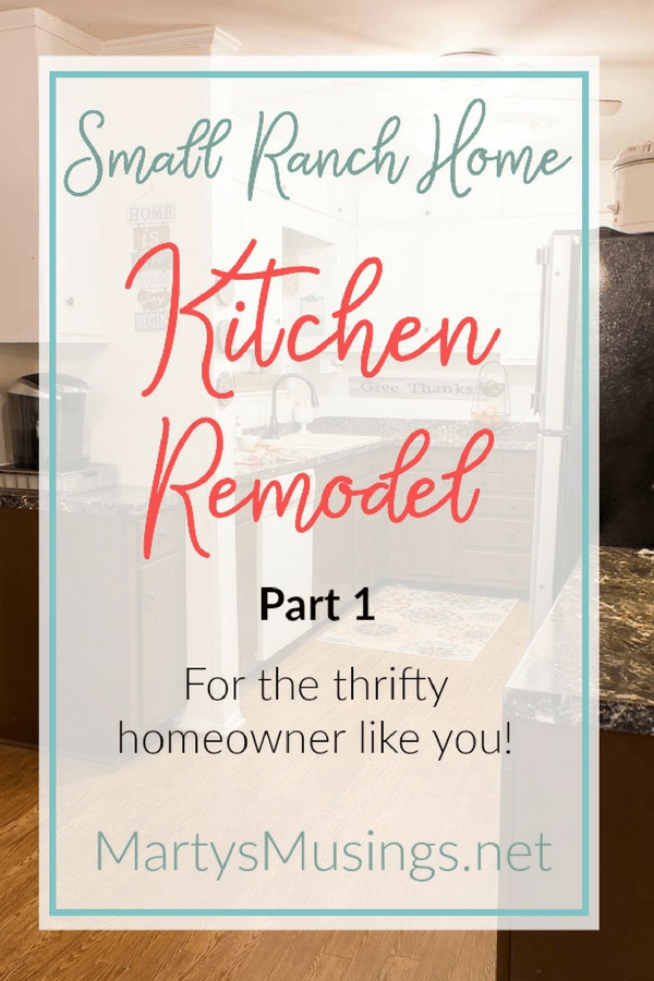 A dated 1950's home is transformed into an authentic beauty in this small ranch home kitchen remodel with the removal of a wall and opening up the rooms.
