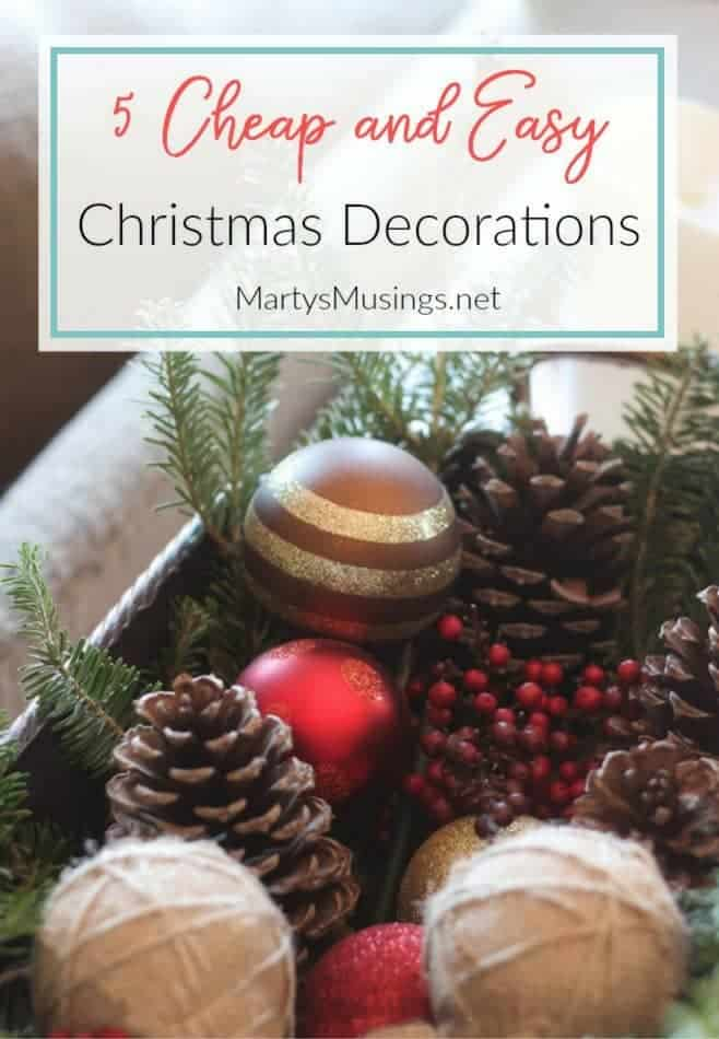 these 5 cheap christmas decorations will help you create the simple authentic home you - Cheap Christmas Decorations