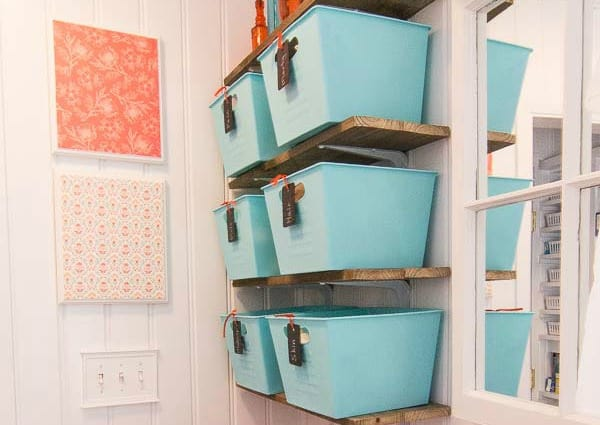 How to Make Easy Wall Art with Scrapbook Paper