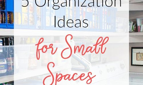 5 Organization Tips for Small Spaces