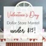 Cheap and Fast DIY Valentines Day Banner