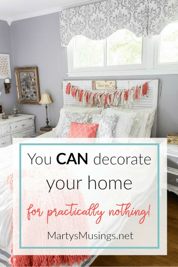 How To Decorate A Home For Practically Nothing