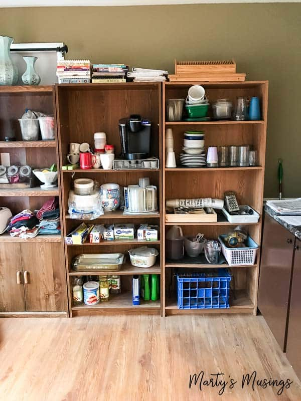 Set Up a Temporary Kitchen During a RemodelMartys Musings