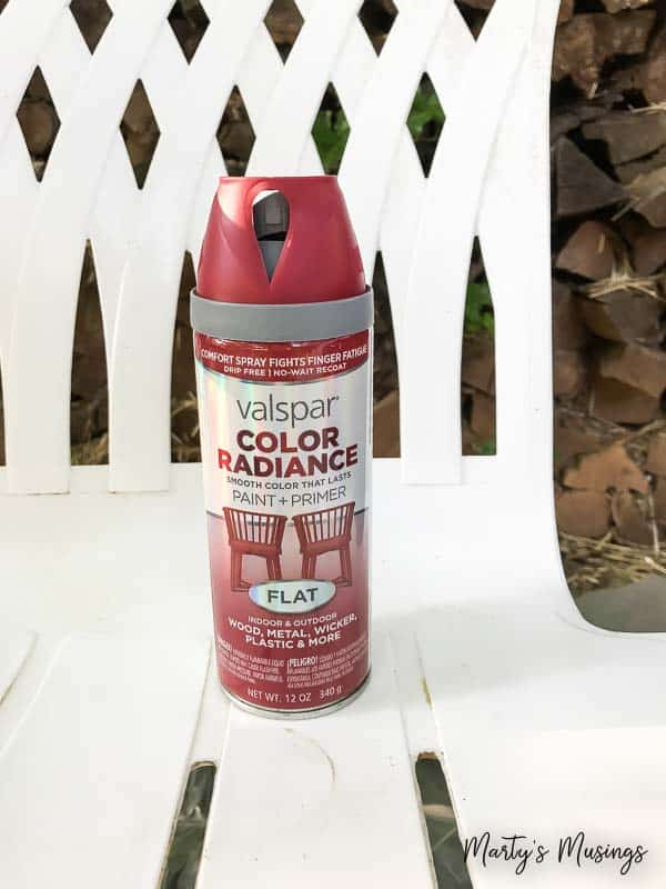 Valspar Color Radiance Spray Paint Part - 30: Donu0027t Throw Away That UGLY Outdoor Furniture! This Easy DIY That ANYONE Can