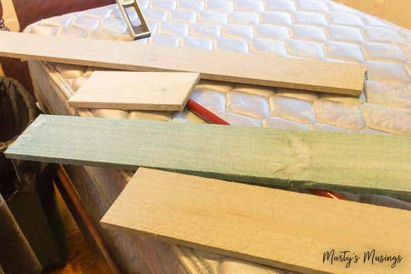 How to DIY Plank Walls with Chalk Paint | Marty\'s Musings