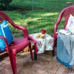 How to Spray Paint Plastic Chairs: An Easy Makeover!