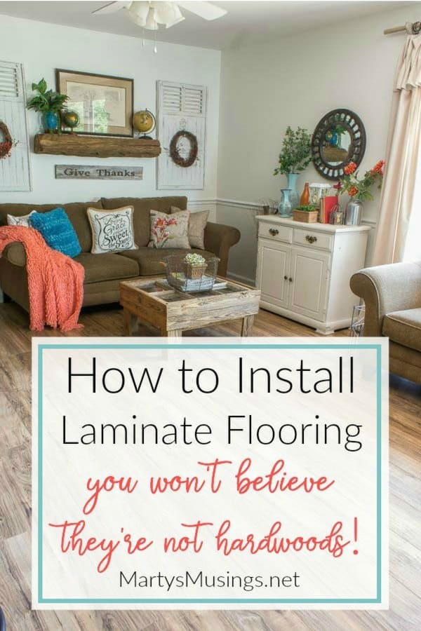 How to install laminate flooring diy tips and tricks these step by step instructions on how to install laminate flooring include tips and tricks on solutioingenieria