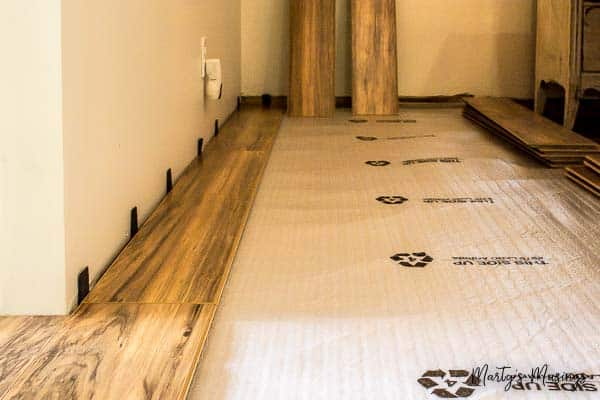 How to install laminate flooring for Snap together laminate flooring