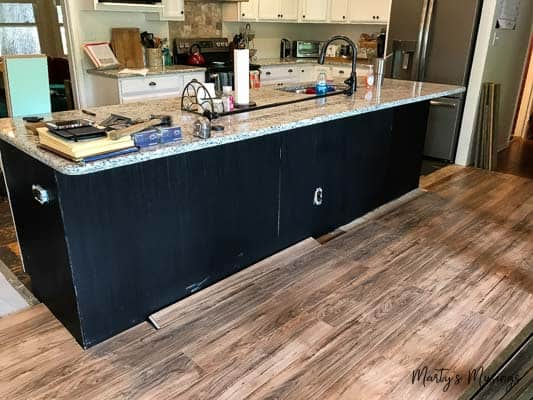 How To Install Laminate Flooring Around Kitchen Island