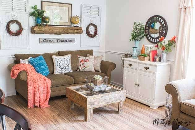 3 easy and cheap summer decorating ideas | marty's musings