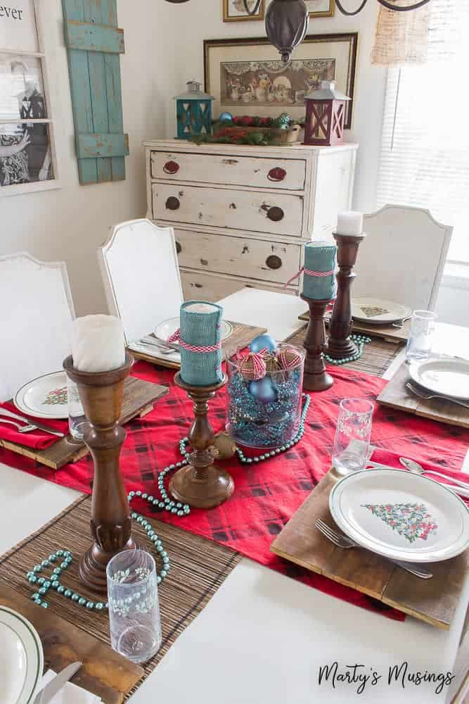 think entertaining has to be expensive and stressful not anymore celebrate the heart of - Rustic Christmas Table Decorations