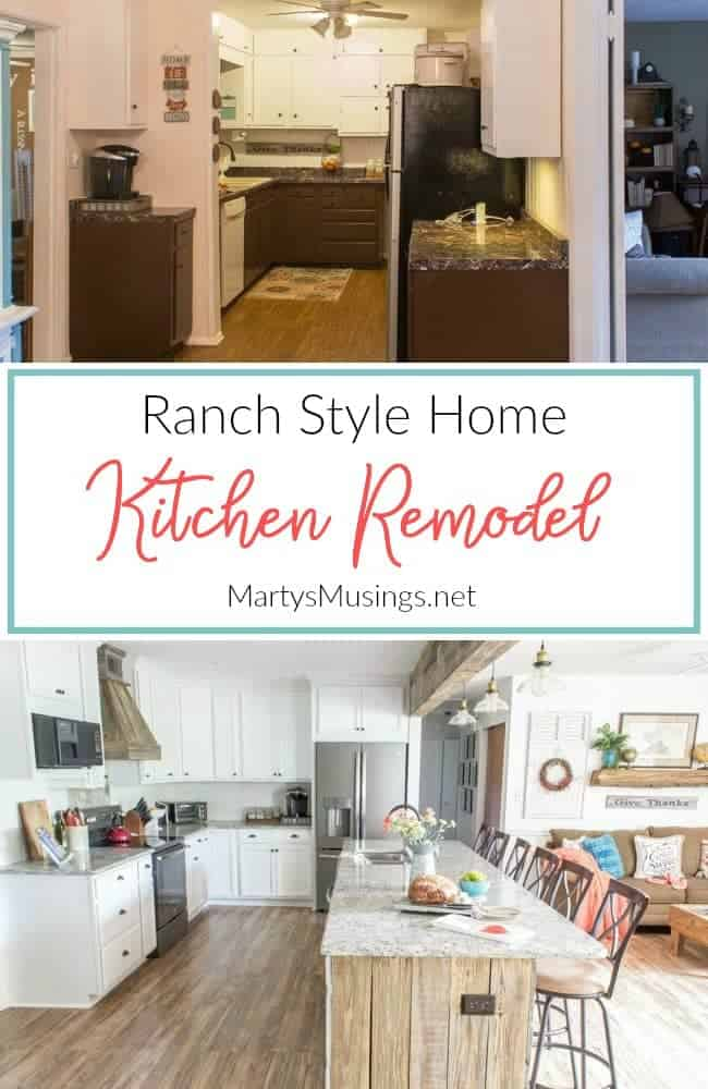 before and after pictures how how to remodel a ranch style kitchen