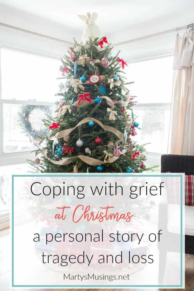 coping with grief at Christmas: a personal story of tragedy and loss