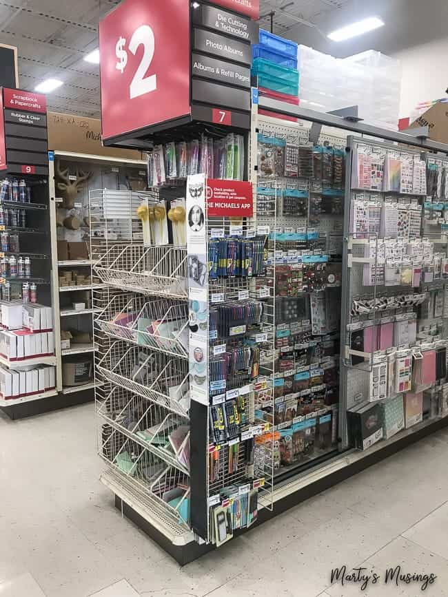 Back to school supplies at Michaels with Pilot G2® Pens