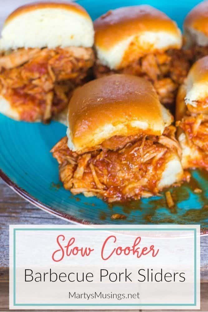 Slow Cooker Barbecue Pork Sliders