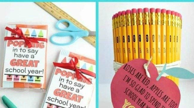 21+ Best Back To School Teacher Gifts You Can Easily DIY!