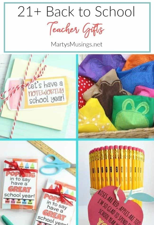 21+ back to school teacher gifts